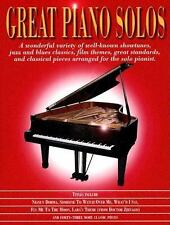 Great Piano Solos (2005, Paperback)
