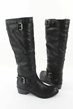NEW Style & Co Ryder Knee High Zip Up Buckle Accents Boots MULTIPLE COLORS