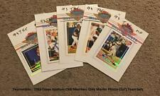1993 Topps Stadium Club Members Only Master Photos 5x7 ** Pick Your Team Set **