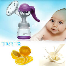 New Mom Breast Pump Manual Feeding Baby Nipple Suction Pump Milk Bottle Sucking