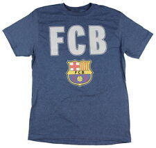 FC Barcelona Simple Barca Mens Graphic T Shirt - Fifth Sun