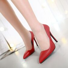 New Sexy Pointed Toe High Heels Pumps Stilettos Shallow Mouth Womens Party Shoes