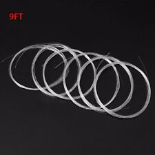 Clear Nylon Fly Fishing Line Leaders Tapered Leader 9FT 0X-6X Knotless Fish Tool