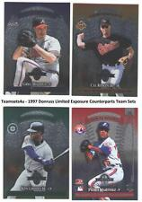 1997 Donruss Limited Exposure Counterparts Sets ** Pick Your Team Set **