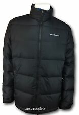 Columbia mens Omni Heat down winter insulated parka coat jacket Black M