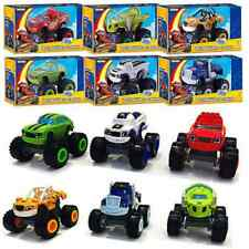 Blaze and the Monster Machines Vehicles Plastic Toys Racer Cars Trucks Kids Xmas