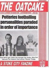 FANZINE (Football) Stoke City OATCAKE Lot 001 - Various