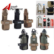 ROGISI Tactical Molle Canteen Bottle Cover for Water Bottle Pouch BK/CB/Khaki