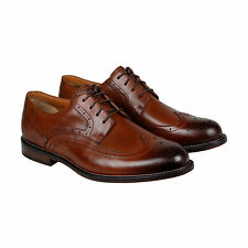 Clarks Dorset Limit Mens Brown Leather Casual Dress Lace Up Oxfords Shoes