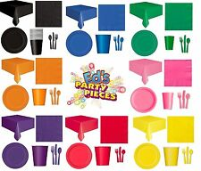 PARTY TABLEWARE - Plates/Cups/Napkins/Tablecovers/Bags/Balloons{Fixed £2 UK p&p}