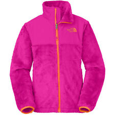 NWT North Face Girl's Denali Thermal Fleece Outdoor Jacket Luminous Pink S L $99