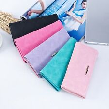 Women Wallets Hasp Coin Purse Bilfold Long Wallet ID Card Holder Clutch Handbag