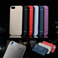 Aluminum Ultra-thin Metal Hard Case Back Cover For Apple iPhone 4S/ 5S/6 Plus 17