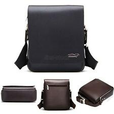 Men Travel Messenger Shoulder Bag Crossbody Bags Handbag Small Bag Faux Leather