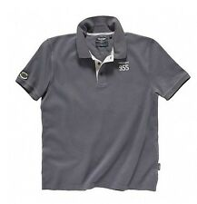 GENUINE TRIUMPH STEVE MCQUEEN JERSEY POLO SHIRT GREY LARGE X-LARGE *SALE*