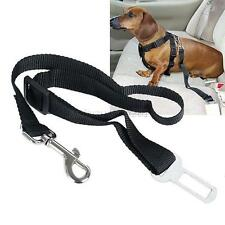 Adjustable Dog Pet Harness Restraint Lead Leash Travel Clip Car Safety Seat Belt