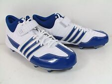 NIB Men's ADIDAS 'Brute Force 2 Mid' ROYAL BLUE LACROSSE CLEATS ATHLETIC SHOES