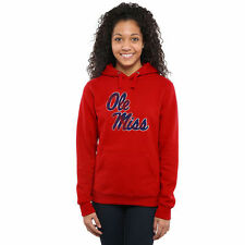 Ole Miss Rebels Women's Scarlet Classic Primary Pullover Hoodie