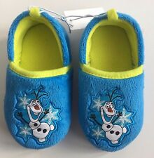 """Disney Collection Toddler Frozen """"Olaf"""" Slippers Toddler Boys 7/8 New with Tag"""