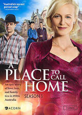 A Place to Call Home: Season 3 (DVD, 2016, 3-Disc Set) Brand New