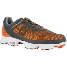 Footjoy Golf Hyperflex Men's Shoes - Orange/Charcoal