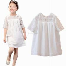 Princess Baby Kids Girls Floral Dress Party Pageant Lace Tulle Tutu Dresses New