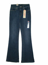Levis High Rise Slim Flare Stretch Denim Blue Jeans Women's Sizes 28, 29 New