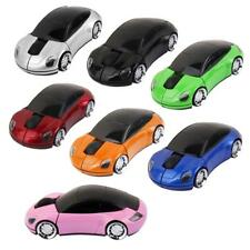 2.4GHz Wireless 3D 1600DPI Car Shape Optical Usb Gaming Mouse PC Laptop Mice