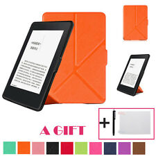 Magnetic Auto Sleep Leather Case+Touch Pen+Screen Protective Film For Kindle 6""