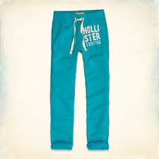 NWT Hollister by Abercrombie&Fitch Mens Classic Sweatpants XS Blue