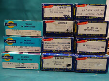 Vintage Athearn/Roundhouse Lot of 11 HO Scale Railcar Kits and Assembled Cars