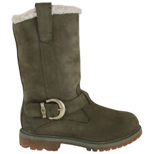 Timberland Nellie Pull On Womens Leather Winter Boots (8148A D62)