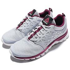 Reebok Sublite XT Cushion 2.0 MT Grey Berry Women Running Shoes Sneakers AR2834