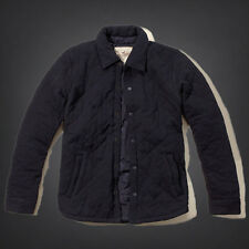 NWT Hollister-Abercrombie&Fitch Mens Cabrillo Beach Shirt Jacket Navy M