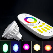 MR16 SMD5050 5730 2.4G 4W RGBW LED Bulb Spot Light Lamp With 2.4G RGBW Remote