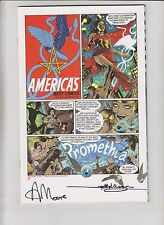 Promethea #32 VF/NM magical edition - signed by alan moore (#526 of 1,000) rare