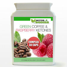 Raspberry Ketone Green Coffee Bean Extract Complex Weight Loss Slimming Pills