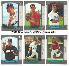 2000 Bowman Draft Picks and Prospects Baseball Set ** Pick Your Team **