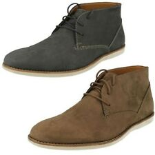 Men's Clarks Casual Desert Lace Up Ankle Boots Label - Franson Top