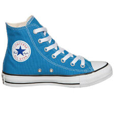 Converse CT All Star Hi Top Unisex Mens Womens Canvas Blue Trainers 147129C U37