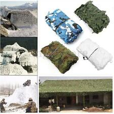 6.5ft x 6.5ft Woodland Camouflage Net Camo Netting Hunting Camping Hide Shelter