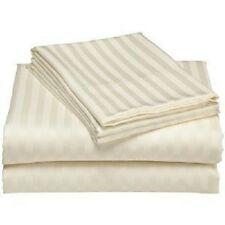 Queen Size 4PC Super Soft & Wrinkle-Free 100% Microfiber Stripes Sheet Set