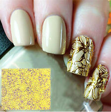 Nail Art Sticker 1 Sheet 3D Flower Embossed Stickers Nails Flower Decals CHI