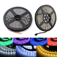 5M 5050 SMD 300 RGB Cool Warm White LED Strip Light Lamp Party Decor Waterproof
