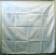 """Hungarian Kalocsa stamped folk embroidery 33-1/2"""" SQ LUNCHEON TABLECLOTH Hungary"""