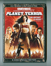 Planet Terror Extended and Unrated 2-Disc Special Edition Dvd Set