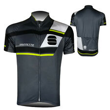 2017 New Mens Bike Cycling Outfits Jersey Short Sleeve Shirt 3 Pockets Sweater