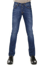 GILDED AGE Man Blue Slim Fit Stretch Denim Jeans Made in Italy