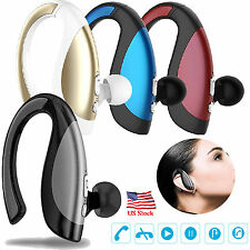 Wireless Headphone Bluetooth Headset Stereo Earphone Sweatproof Handfree Earbuds