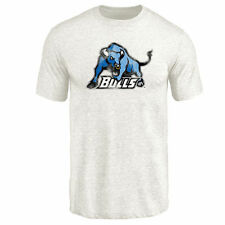 Buffalo Bulls White Classic Wordmark Tri-Blend T-Shirt - College